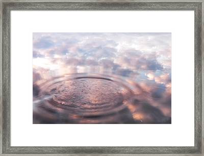 The Sounds Of Silence. Sacred Music Framed Print by Jenny Rainbow