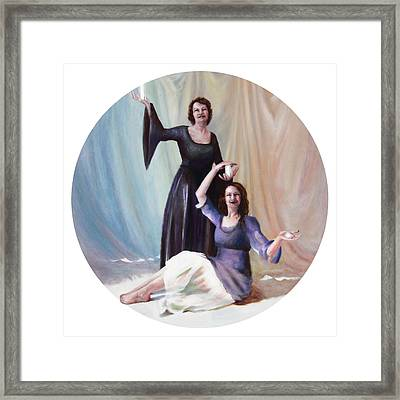 The Source Framed Print by Shelley Irish