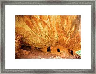 The South Fork Of Mule Canyon's House Framed Print by Richard Wright
