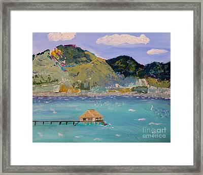The South Seas Framed Print by Phyllis Kaltenbach