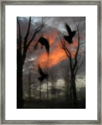 The Spirit Keepers Framed Print by Gothicolors Donna Snyder