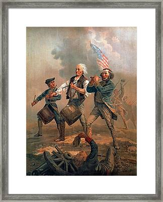 The Spirit Of 76 Framed Print by Granger