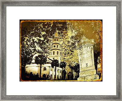 The Spirit Of Charleston South Carolina Framed Print by Ginette Callaway