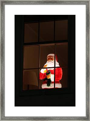 The Spirit Of Christmas Framed Print by Juergen Roth