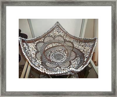 The Sqaure Bowl Framed Print by Nick  Jaji