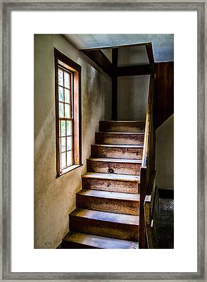 The Stairs Framed Print by Karol Livote