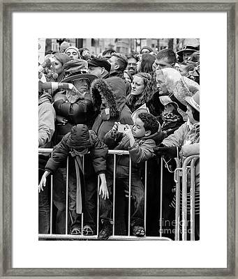 The Standoff Framed Print by Robert Yaeger