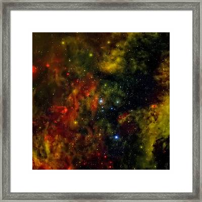 The Star Factory Framed Print by The  Vault - Jennifer Rondinelli Reilly