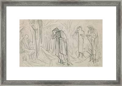 The Star Of Bethlehem Framed Print by Sir Edward Burne-Jones
