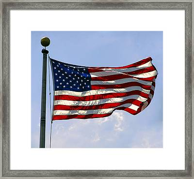 The Star Spangled Banner Framed Print by Daniel Hagerman