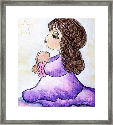 The Star Still Shines Framed Print by Eloise Schneider