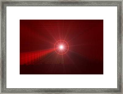 The Star Tunnel Framed Print by Jeff Swan