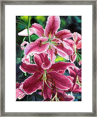 The Stargazers Framed Print by Barbara Jewell