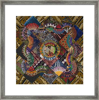 The Stars Come Out Framed Print by Aisha Lumumba