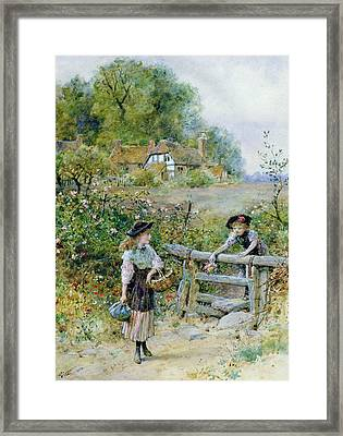 The Stile Framed Print by William Stephen Coleman