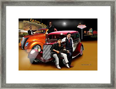 The Sting Framed Print by Marlon Ramirez