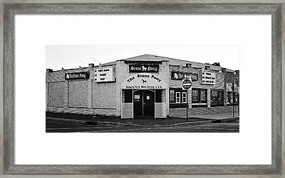 The Stone Pony Asbury Park New Jersey Framed Print by Terry DeLuco