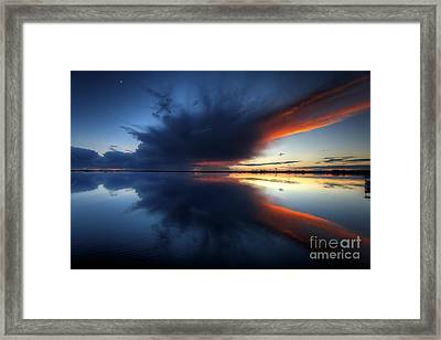 The Storm Framed Print by English Landscapes