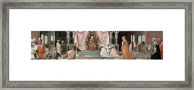 The Story Of Esther Framed Print by Peter Candid