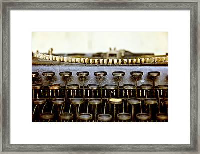 The Story Told 2 Framed Print by Angelina Vick