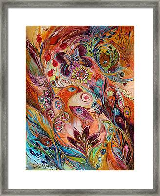 The Stream Of Life Part I Framed Print by Elena Kotliarker