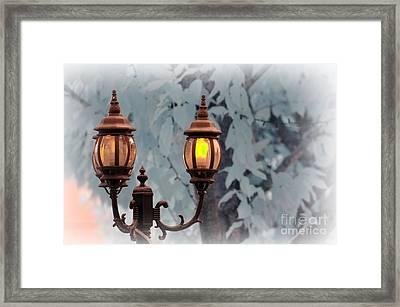 The Street Lamp Framed Print by Paul Ward