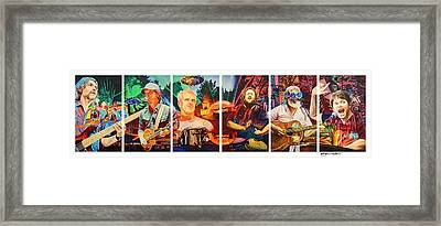 The String Cheese Incident At Horning's Hideout Framed Print by Joshua Morton