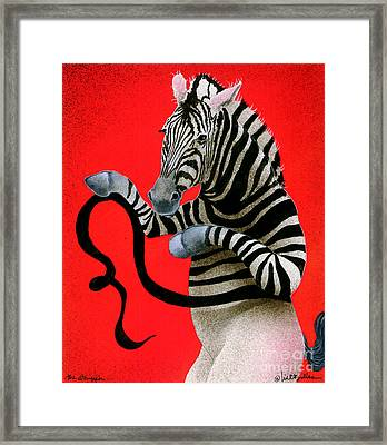 The Stripper... Framed Print by Will Bullas