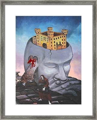 The Stronghold Framed Print by Ricardo Colon