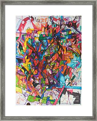 The Subject In Entirety 1 Framed Print by David Baruch Wolk