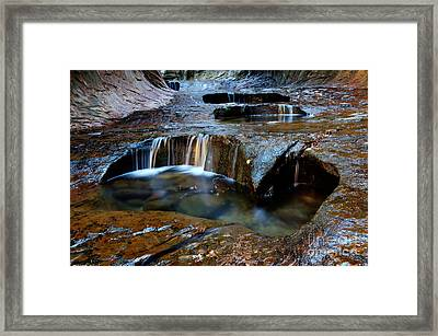 The Subway Pools Of Wonder Framed Print by Bob Christopher
