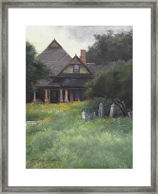 The Sullivan House Framed Print by Anna Rose Bain