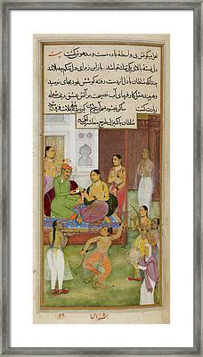 The Sultan Of Baghdad Framed Print by British Library