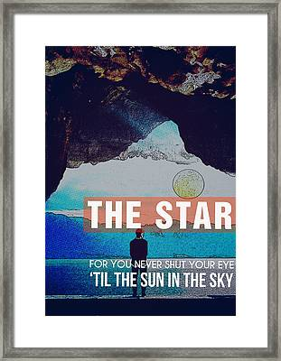 The Sun In The Sky Framed Print by Celestial Images