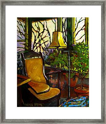 The Sunroom Framed Print by Charlie Spear
