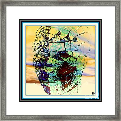 The Sunset Of Life Framed Print by Irma BACKELANT GALLERIES