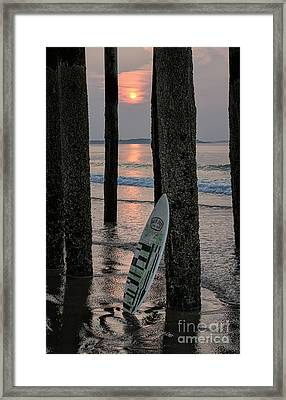The Surf Awaits Framed Print by Scott Thorp