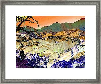 The Surreal Desert Framed Print by Glenn McCarthy Art and Photography