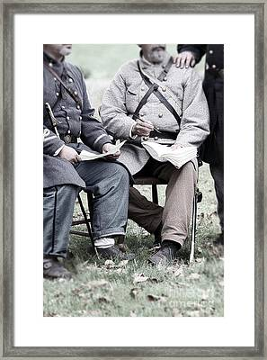 The Surrender Framed Print by Stephanie Frey