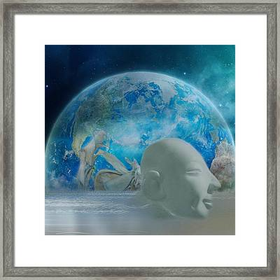 The Survivors Framed Print by Heike Hultsch