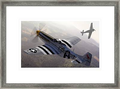The Sweede Steed Framed Print by Hangar B Productions