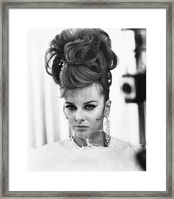 The Swinger, Ann-margret, 1966 Framed Print by Everett
