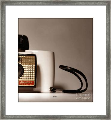 The Swinger Framed Print by Steven  Digman