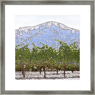 The Taste Of Wine Framed Print by Artist and Photographer Laura Wrede