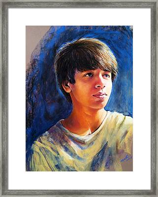 The Teenager Framed Print by Arti Chauhan