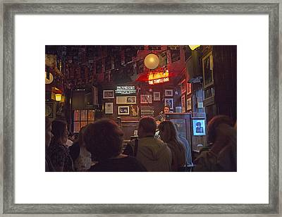 The Temple Bar Dublin Ireland Framed Print by Betsy C Knapp