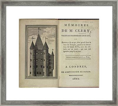 The Temple Framed Print by British Library