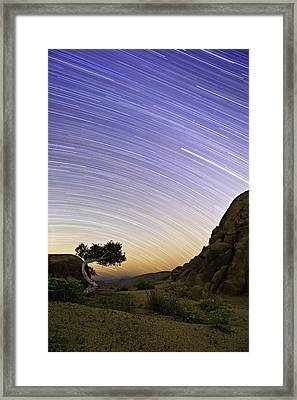 The Test Of Time Framed Print by Basie Van Zyl