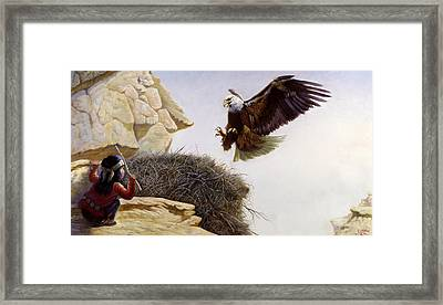The Thief Framed Print by Gregory Perillo
