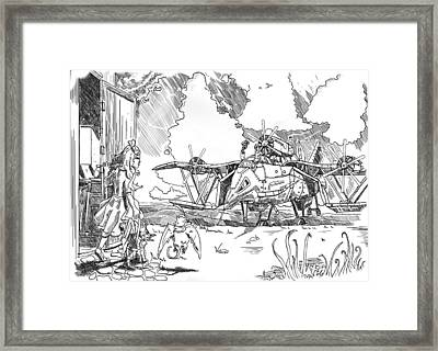 The Thingamajig Framed Print by Reynold Jay